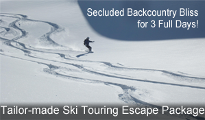 Ski touring escape